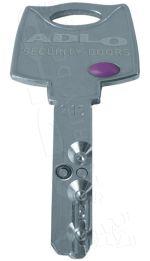 Key Mul-T-Lock Interactive ADLO LUX, all-metal - ADLO