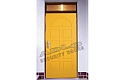 ADLO - Security door ZENIT, profile Color F156, for the exterior