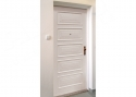 ADLO - Security door ADUO, atypical panel shape, surface white