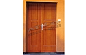 ADLO - Security door TEDUO, double-wing, profile Veneer F250
