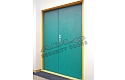 ADLO - Security door TEDUO, double-wing Color, for the exterior