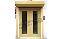 ADLO - security door ADUO, glass P100, double-wing, surface Color