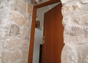 ADLO - Security Termo door Kasim, atypical design profile Veneer, weekend cottage entrance