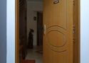 ADLO - Security door Zenex, profile design F-153, surface Veneer OAK, Wooden Decor for the doorframe Rustica