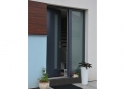 ADLO - Security door ADUO, Termo exterior, glass colour, skylight with armour-safe triple-pane glass