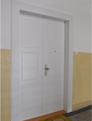 ADLO double-wing security door TEDUO, profile design, surface Color, door dimensions 160/197cm